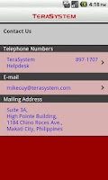 Screenshot of TeraSystem Mobile Banking