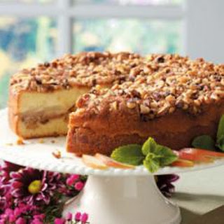Walnut Pear Coffee Cake