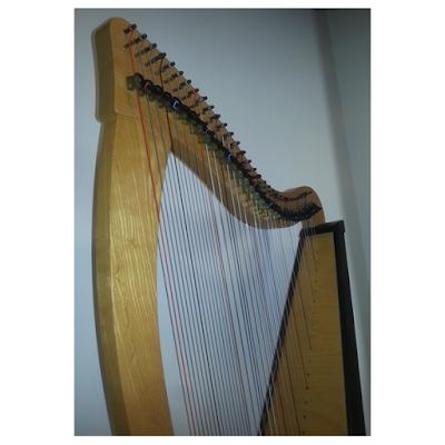 acheter harpe dusty strings ravenna 34 cordes d 39 occasion. Black Bedroom Furniture Sets. Home Design Ideas