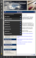 Screenshot of Krisinformation.se