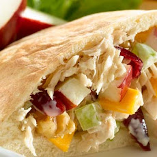 Apple, Cheddar & Tuna Pitas