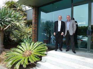 Hon Steven Joyce Visits Argenta