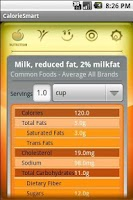 Screenshot of CalorieSmart Calorie Tracker