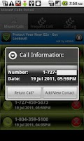 Screenshot of Missed Call II