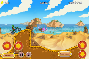 Screenshot of Bike Race Adventure