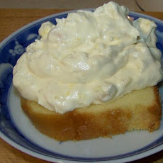 Pineapple Frosted Pound Cake