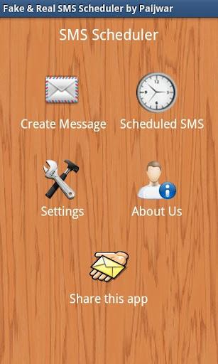 Fake Real SMS Scheduler