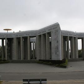 Mardasson Memorial by Jan - Buildings & Architecture Statues & Monuments ( ww2, memorial, belgium, nuts!!!, bastogne )