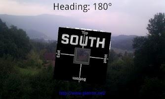 Screenshot of Ma.Compass - Augmented Reality