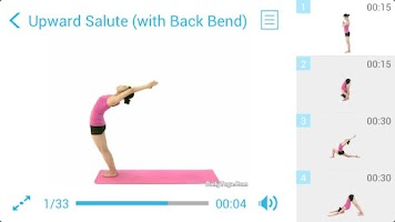 Screenshot of Sun Salutation