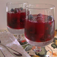 Sparkling Berry Jello Salad