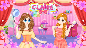 Screenshot of Claire Salon
