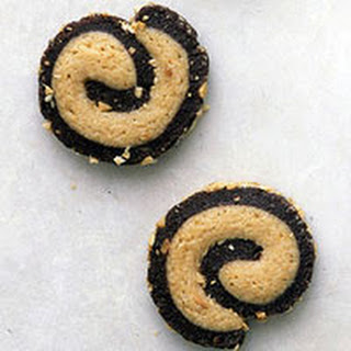 Black and Tan Pinwheels