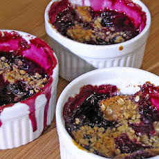 Cherry-Berry Crumble