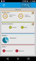 Screenshot of SMG Reporting