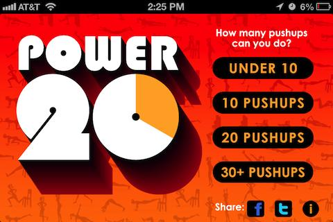 Power 20 - 20 Minute Workouts Screenshot 0