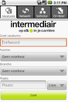 Screenshot of Intermediair