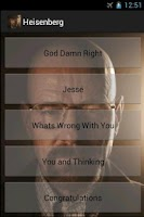 Screenshot of Walter White SoundBoard