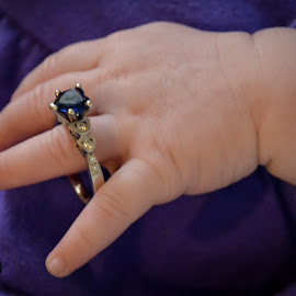 Someday by Audrey Clemo - Babies & Children Hands & Feet ( tiny, sweet, meela, purple, sapphire, baby, engagement )