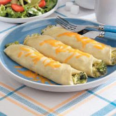 Broccoli Cheese Crepes