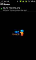 Screenshot of Chat Hispano (antiguo)