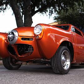 Golden studabaker by Jeff Moore - Transportation Automobiles