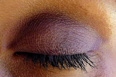 Bionic Beauty blog makeup look using Purple eyeshadows by Spell Cosmetics
