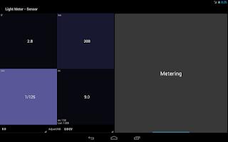 Screenshot of Light Meter Tools - Trial