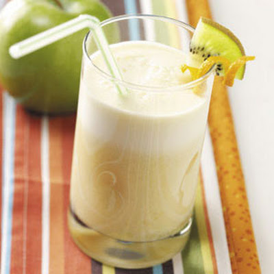 Orange Soy Milk Frappes Recipe