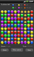 Screenshot of Bubble break