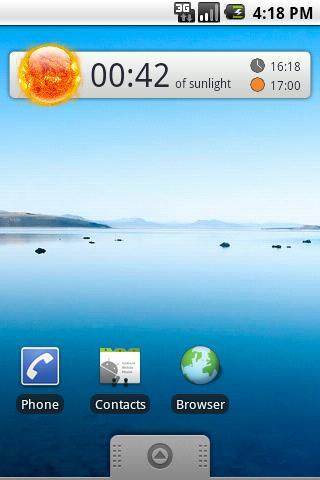 Twilight Clock
