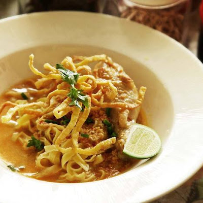Real-Deal Khao Soi Gai (Northern Thai Coconut Curry Noodle Soup With Chicken)