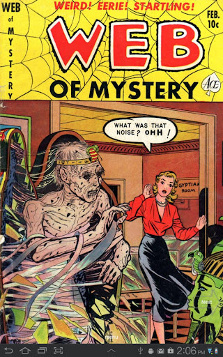Web of Mystery 7 Comic Book