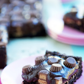 Chocolate & Peanut Butter Lover's Brownies