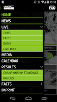 Screenshot of WRC outdated