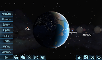 Screenshot of Solar System Explorer HD Pro