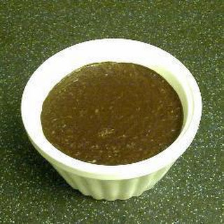 Dark Chocolate Coconut Pudding