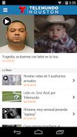 Screenshot of Telemundo Houston