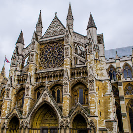 Westminster Abbey by Jennifer Tsang - Buildings & Architecture Public & Historical ( uk, england, westminster abbey, london, united kingdom )
