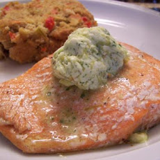 Grilled Salmon With Jalapeno Butter