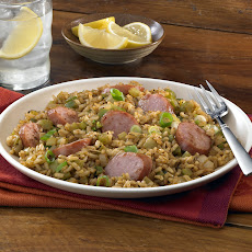 Smoked Sausage Cajun Dirty Brown Rice