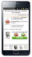 Screenshot of Mein-Deal.com Schnäppchen App