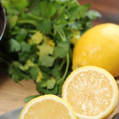 Steamed Lemon Chicken