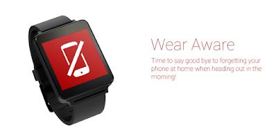 Screenshot of Wear Aware - Phone Finder