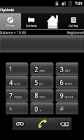 Screenshot of Collect Call App for android