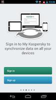 Screenshot of Kaspersky Password Manager