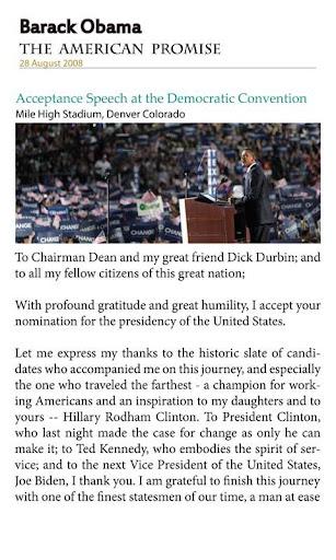 【免費娛樂App】Obama Speeches-APP點子