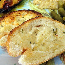 Crunchy Garlic Bread