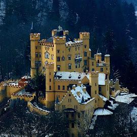 Hohenschwangau Castle by Sandra Filipe - Buildings & Architecture Public & Historical ( europe, germany, castle, travel, hohenschwangau )