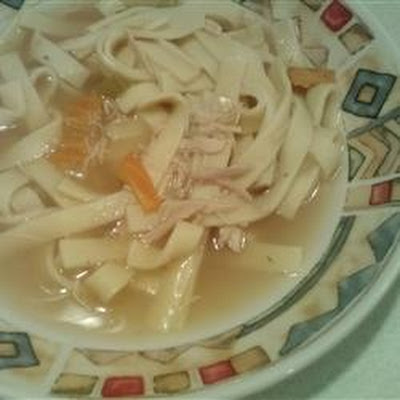 Old Man's Turkey Noodle Soup